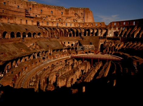 Colloseum, Rome colour