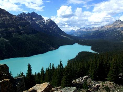 Peytone Lake, Canada