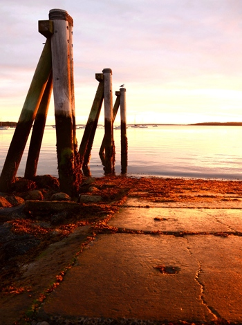 Casco Bay, Portland, Maine USA