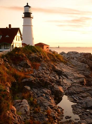 Portland Light, Maine USA