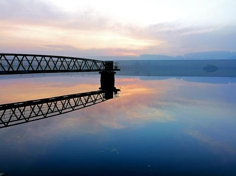 Sunset, Redmires Reservoir