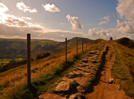 Mam Tor in Autumn