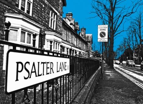 Psalter Lane (blue)