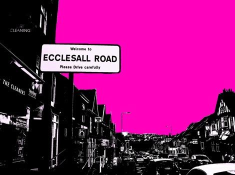Ecclesall Road pink