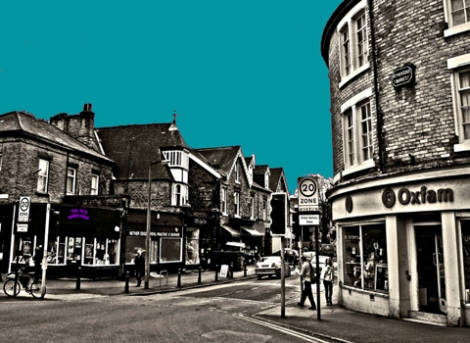 Nether Edge Sheffield (Teal)