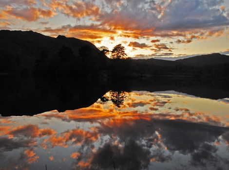 Sunset, Grasmere