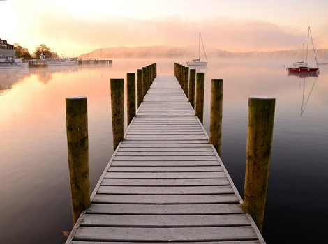 Jetty, Lake Windermere